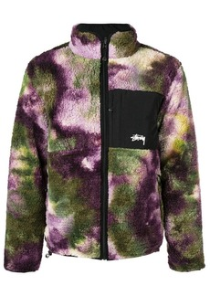 Stussy tie-dye bomber jacket