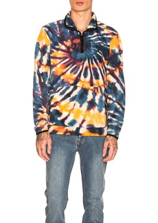 Stussy Tie Dye Polar Fleece Mock