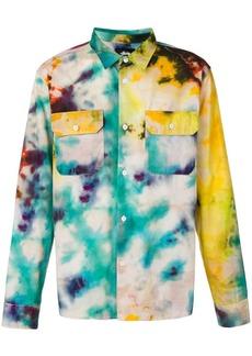 Stussy tie-dye print shirt