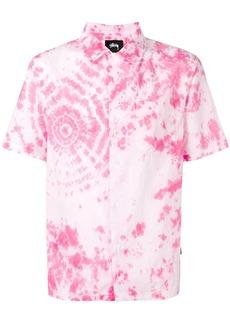 Stussy tie dye short sleeve shirt