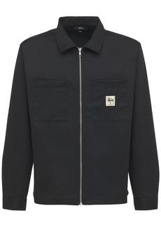 Stussy Zip-up Work Shirt
