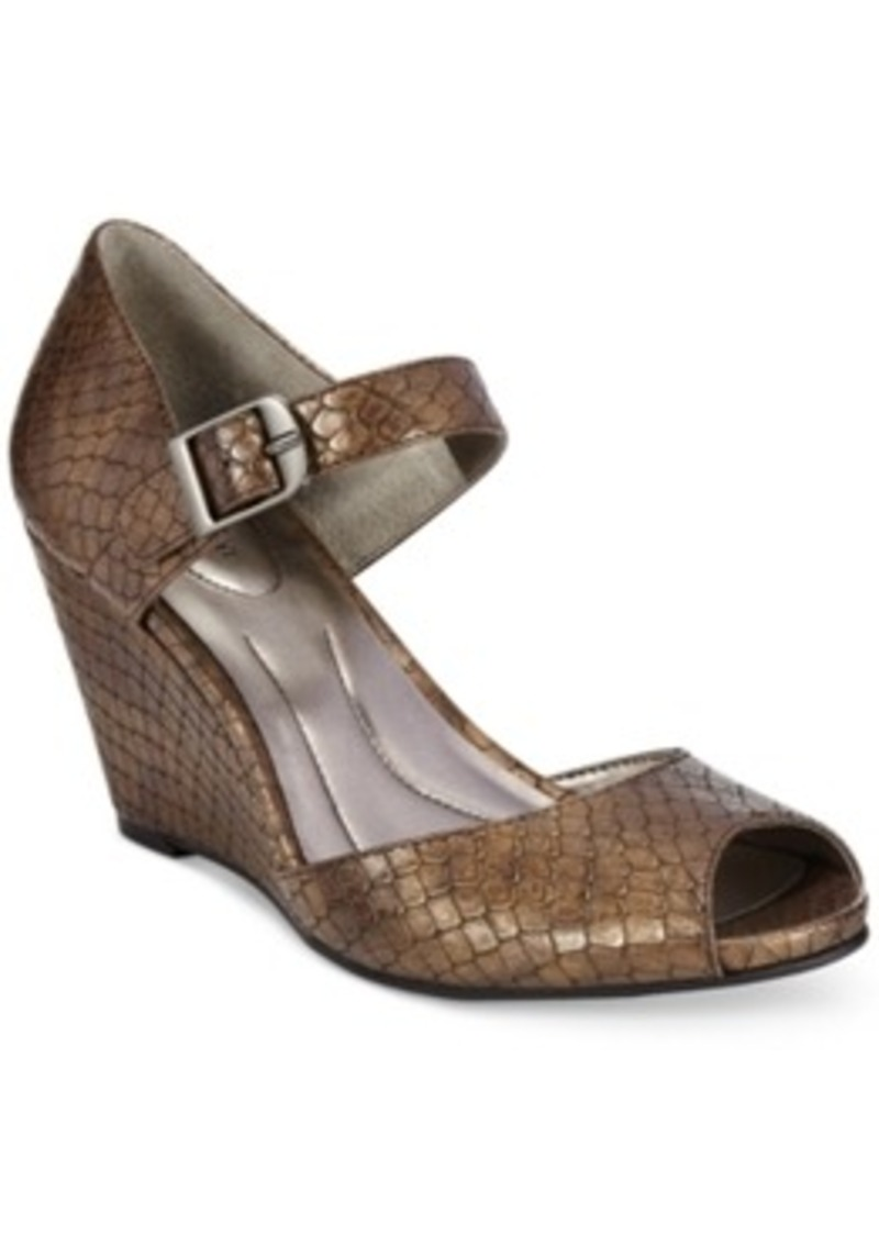 Style&co. Style & co. Bessye Mary Jane Dress Wedges, Only ...