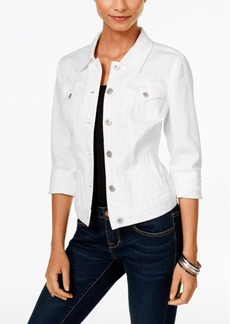 Style&co. Style & Co. Colored Wash Denim Jacket, Only at Macy's