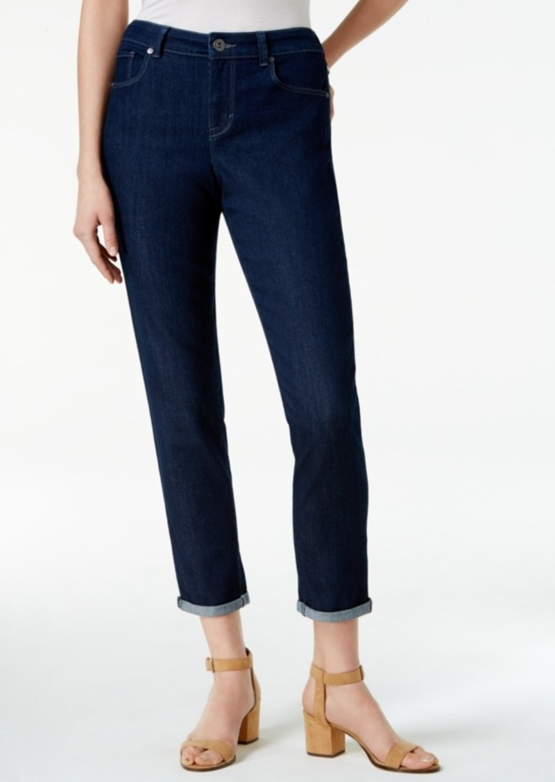 Style&co. Style & Co. Cropped Rinse Wash Skinny Boyfriend Jeans, Only at Macy's