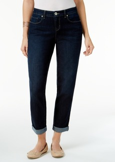 Style&co. Style & Co. Curvy-Fit Cuffed Boyfriend Jeans, Only at Macy's