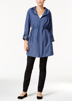 Style & Co. Hooded Rain Coat, Only at Macy's
