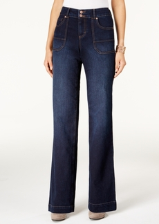 Style&co. Style & Co. Jewel Wash Trouser-Leg Jeans, Only at Macy's
