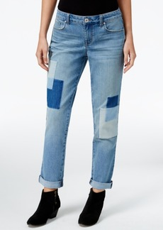 Style&co. Style & Co. Patchwork Disco Wash Boyfriend Jeans, Only at Macy's