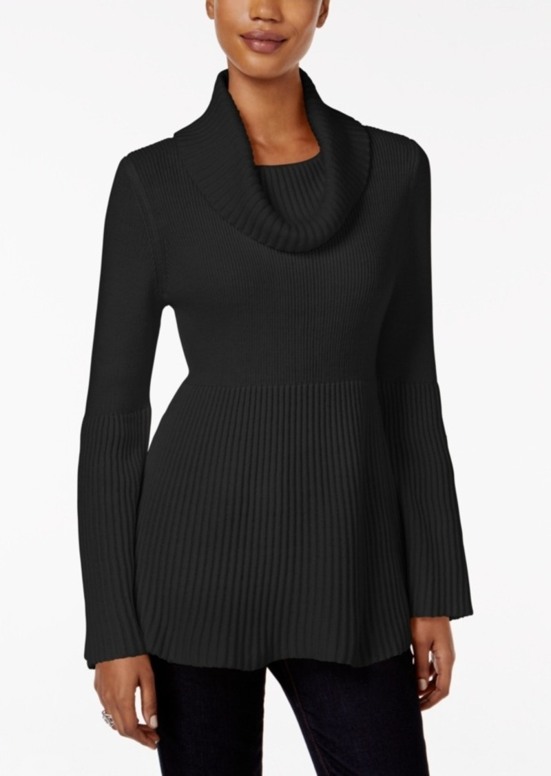 Style&co. Style & Co. Petite Bell-Sleeve Babydoll Sweater, Only at Macy's