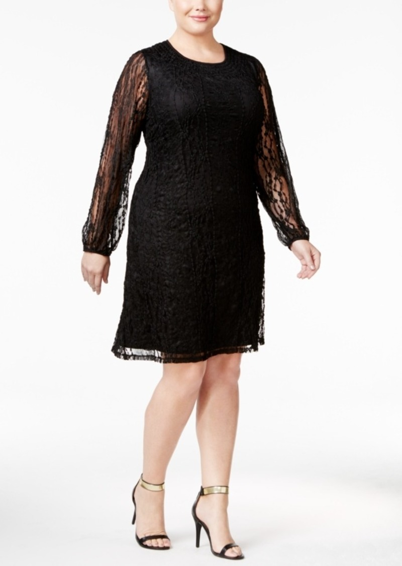 Style&co. Style & Co. Plus Size Lace Peasant Dress, Only at ...