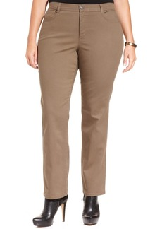 Style&co. Style & Co. Plus Size Tummy-Control Slim-Leg Jeans, Only at Macy's