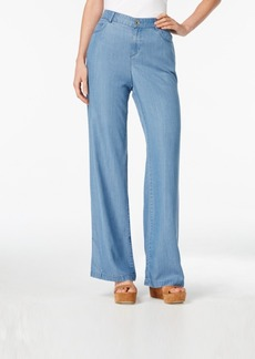 Style&co. Style & Co. River Wash Wide-Leg Jeans, Only at Macy's
