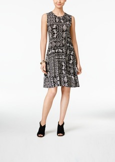 Style&co. Style & Co. Sleeveless A-Line Swing Dress, Only at Macy's