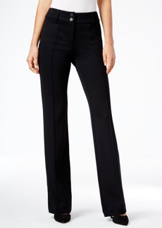Style&co. Style & Co. Tummy-Control Straight-Leg Pants, Only at Macy's