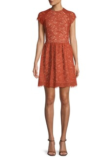Stylestalker Laylor Lace Cotton Dress