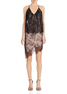 Stylestalker Allende Tiered Lace Dress