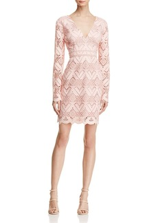 Stylestalker Elora Geometric Lace Dress