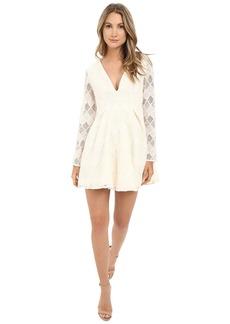 StyleStalker Empire Long Sleeve Dress