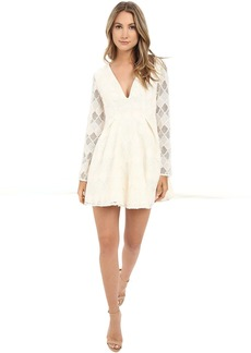 StyleStalker Empire Long Sleeve Dress