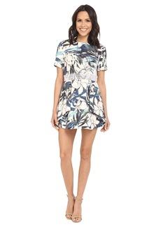 StyleStalker Hawaiian Sunsetian Sunset Aline Dress
