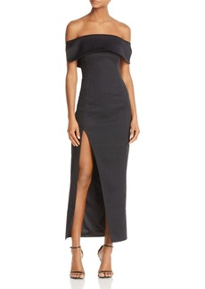 Stylestalker Lana Off-The-Shoulder Dress