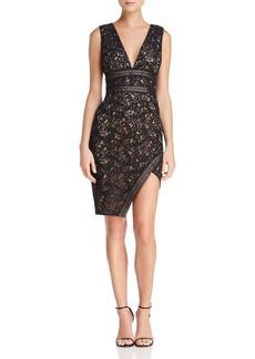 Stylestalker Marjella Asymmetric Lace Dress