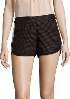 Stylestalker Textured Zipped Shorts