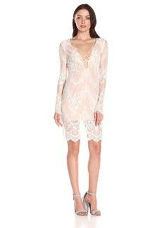 StyleStalker Women's Island of Love Lace Dress  Small