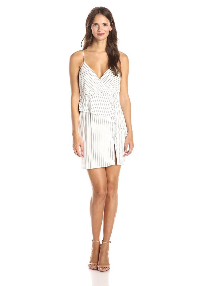 StyleStalker Women's Limitless Stripe Wrap Dress