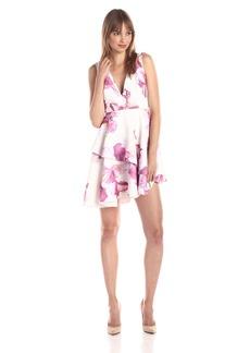 StyleStalker Women's Mayan  Printed Flare Dress