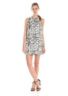 StyleStalker Women's  Print Shift Dress
