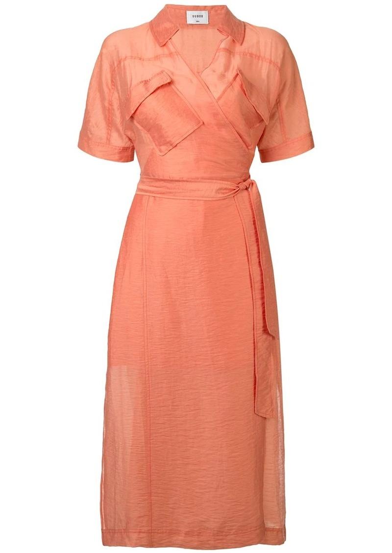 Farrah wrap dress