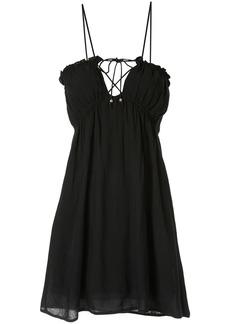 Suboo fine lines mini dress