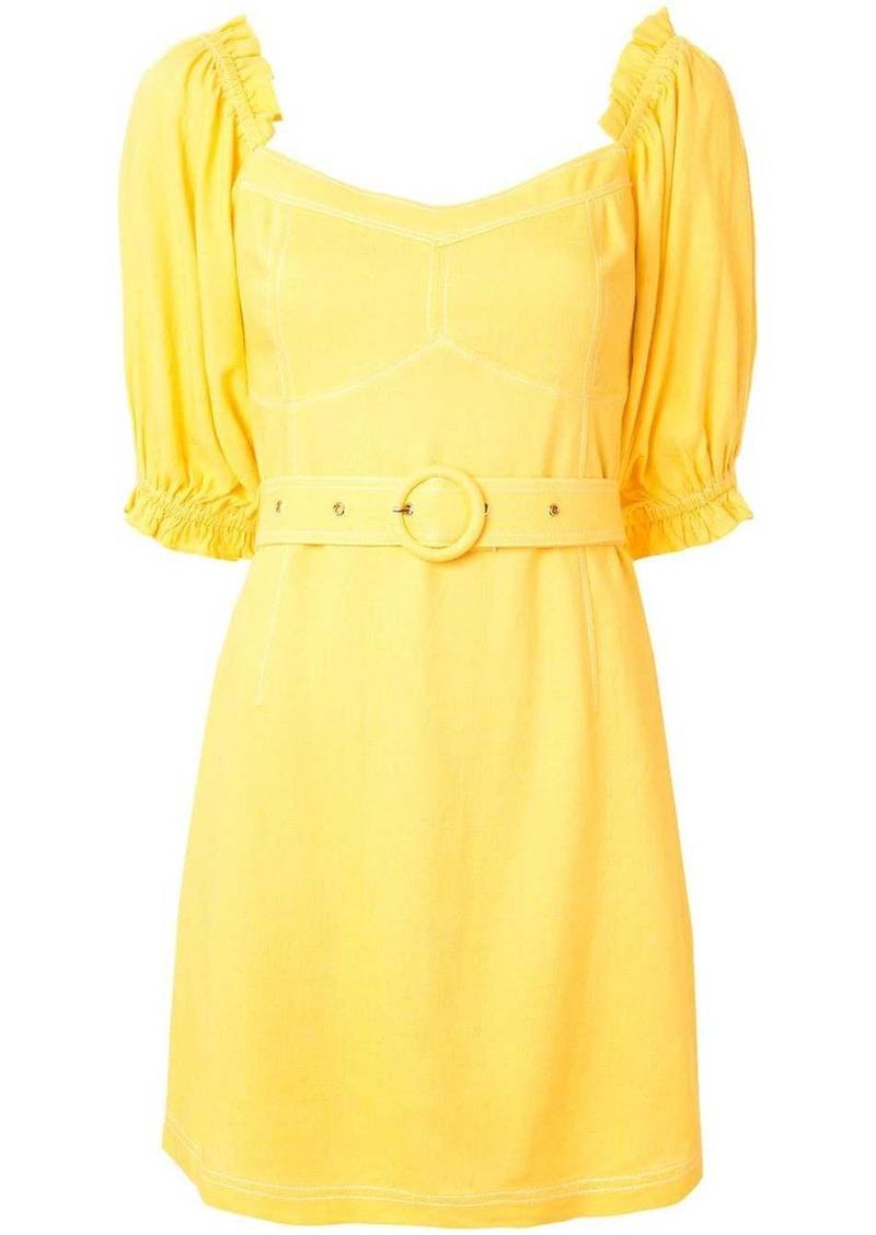 Ines balloon sleeve mini dress