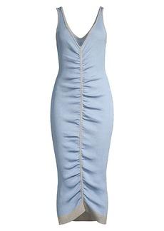 Suboo Leah Rib-Knit Midi-Dress