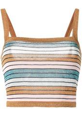Suboo Lolita striped-knit top