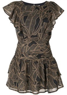 Suboo ruffled mini dress