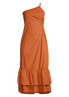 Suboo Saga One-Shoulder Dress
