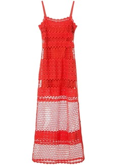 Suboo Stella side button crochet dress
