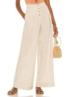 Suboo Cecile Linen High Waist Pant