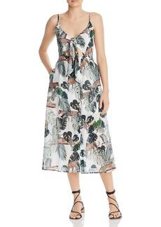 Suboo Xenia Printed Cutout Dress