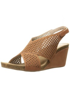 Sudini Women's Britt Wedge Sandal  6.5 W US