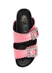 Suecomma Bonnie 20mm Embellished Satin Slide Flats