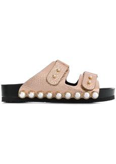 Suecomma Bonnie cabochon-embellished sandals