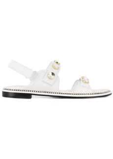 Suecomma Bonnie crystal embellished sandals