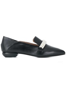 Suecomma Bonnie pearl detailed loafers