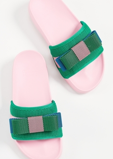 Suecomma Bonnie Colorblock Ribbon Sandals