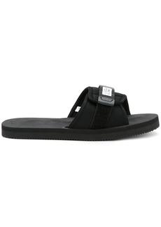 Suicoke open-toe buckle slides