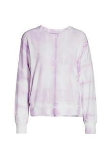 Sundry Oversized Tie-Dye Terry Sweatshirt