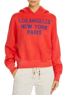 Sundry LA NY Paris Hooded Sweatshirt
